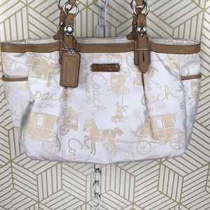 Coach Horse and Carriage Tote Bag